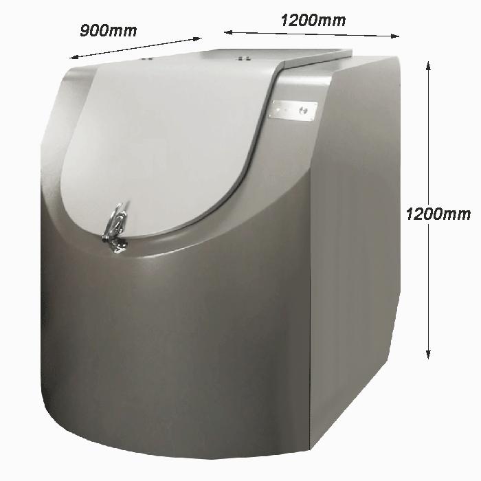 50kg food waste management for commercial use