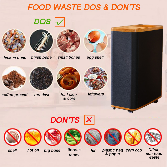 5KG indoor food waste digester