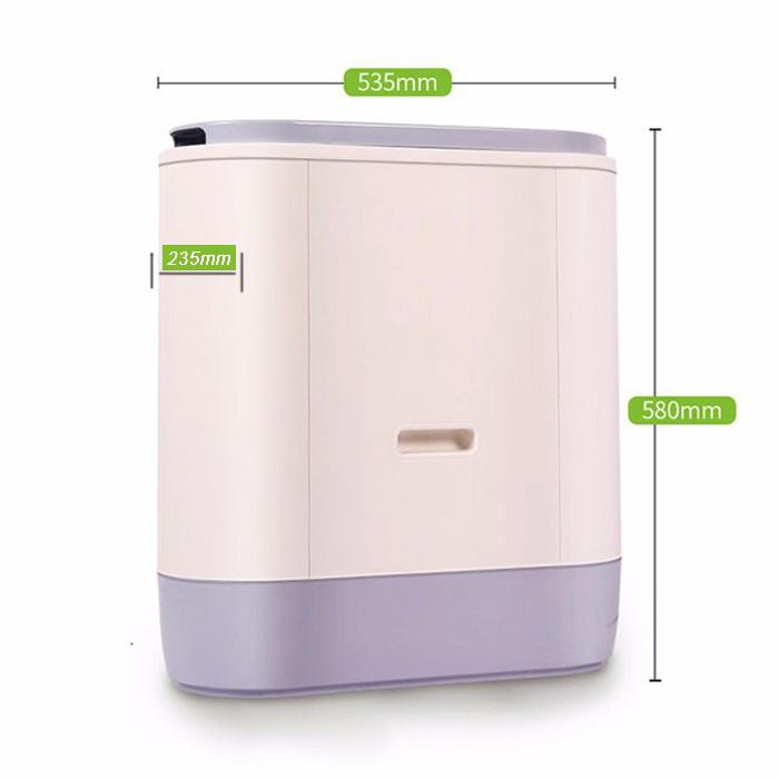 2KG household food waste composting machine