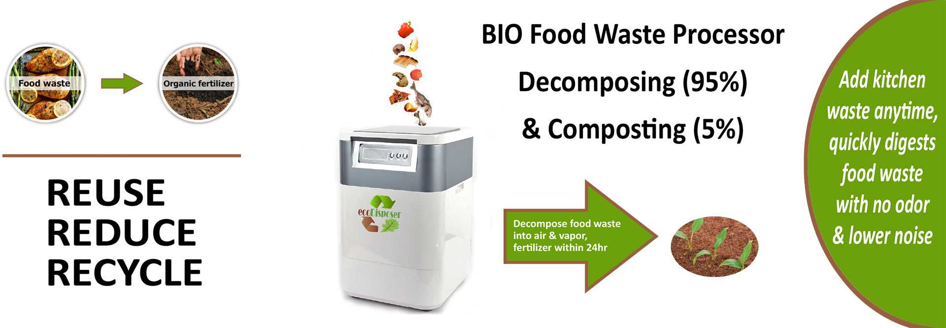 Professional food waste composting machine supplier