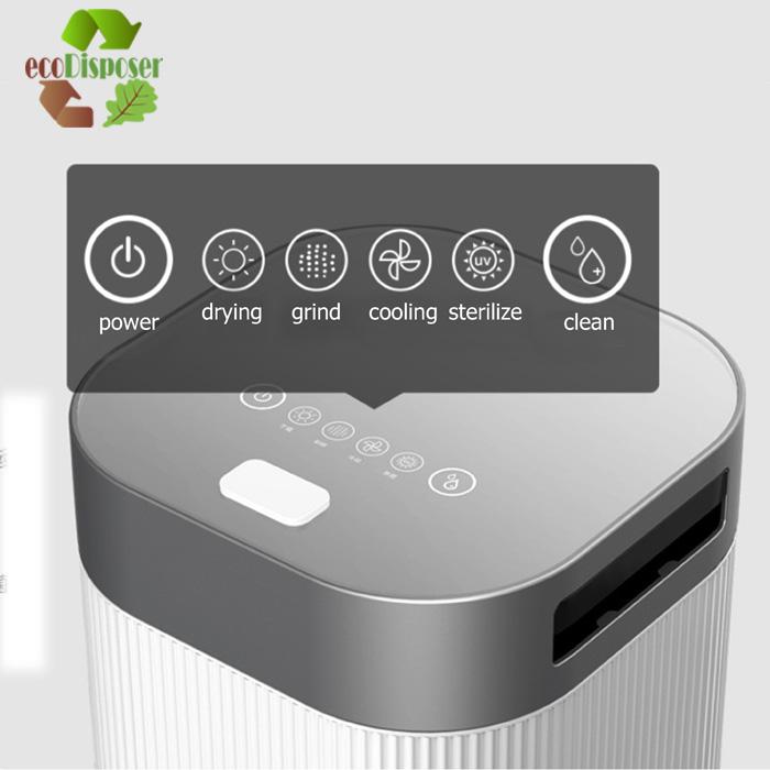 Indoor food waste recycle Household Kitchen Food waste composting machine garbage disposer Smart Trash