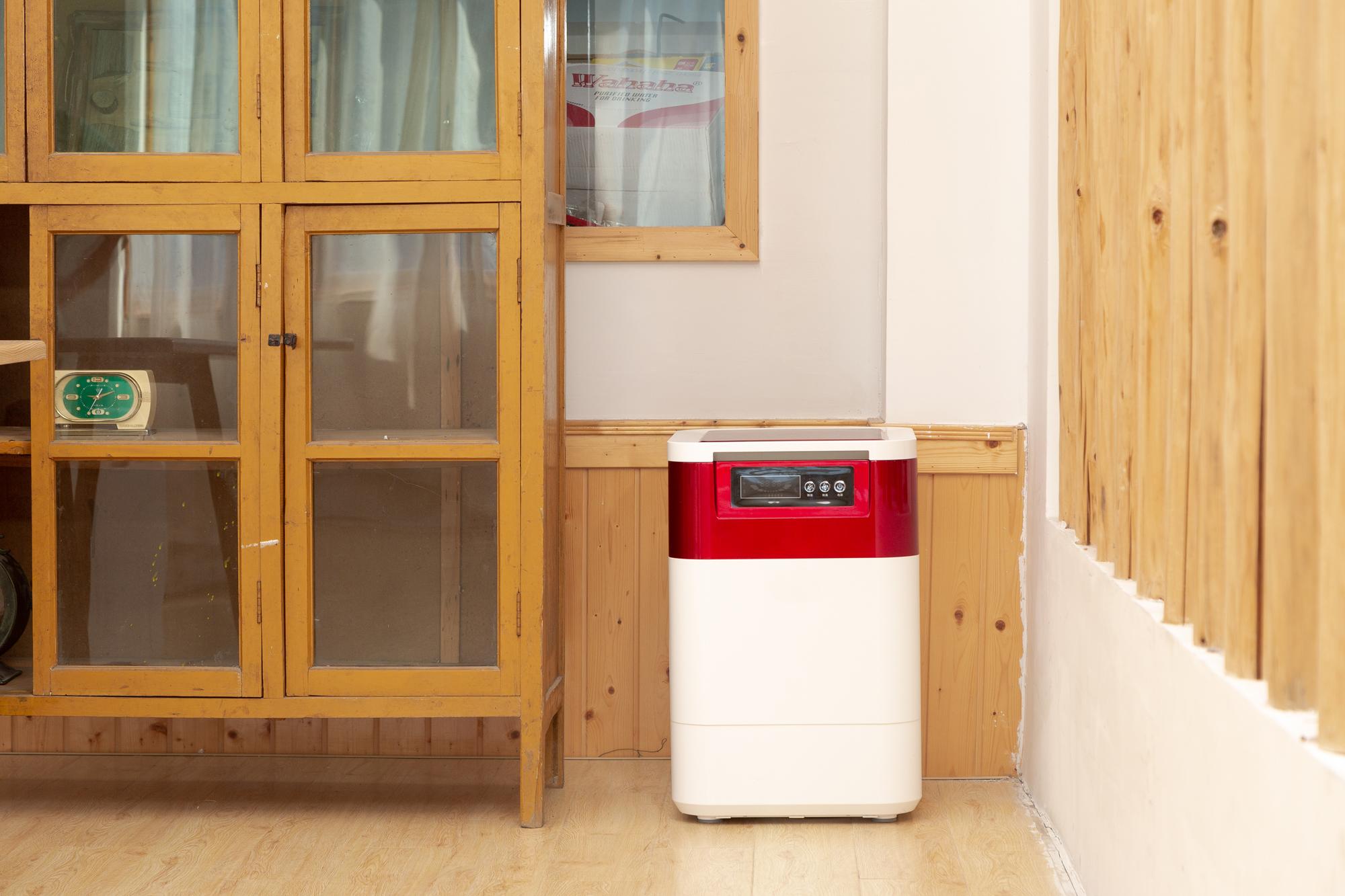 2KG food waste composting machine-Red